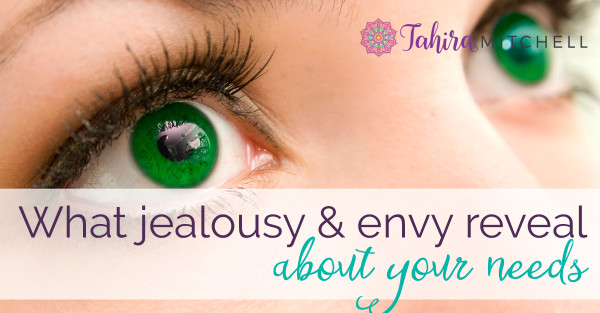 What Jealousy and Envy Reveal About Your Needs